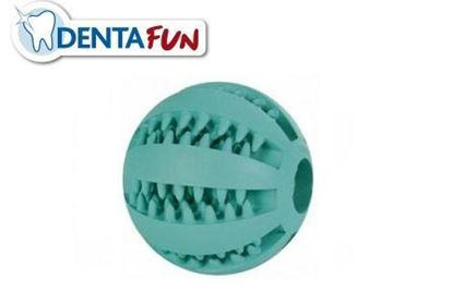 Bild von Denta Fun Mintfresh Ball Naturgummi, 7cm Trixie