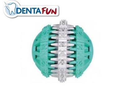 Bild von Denta Fun Mintfresh Ball Naturgummi 7cm Trixie
