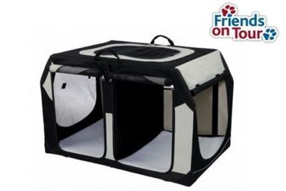 Bild von Transportbox Mobile Kennel Vario Double  91x60x61/57cm Trixie